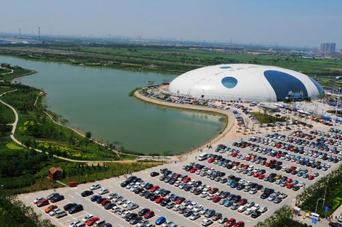 津南旅游景点推荐:天山海世界米立方