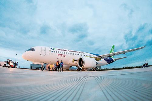 从上海到天津的飞机