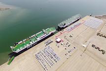 今年前四个月天津港滚装汽车吞吐激增35%进入今年以来,天津港努力提升滚装汽车业务发展规模、质量和效益,今年1~4月完成滚装汽车吞吐31.2万辆,同比增长35.5%。其中,外贸进口完成9.3万余辆,同比增长28.4%;外贸出口完成4.2万余辆,同比增长118.23%,再创历史新高。【详细】商业财经|游在天津|科教文体|观点评论