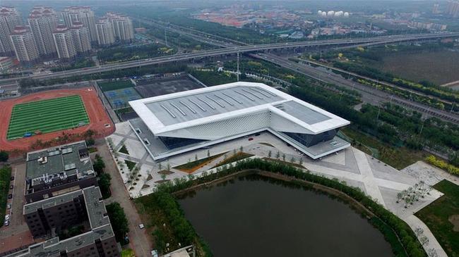全运会场馆巡礼:天津职业技术师范大学体育馆