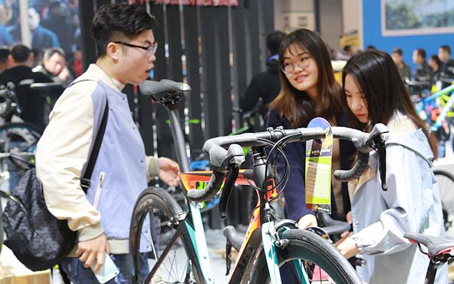 2018中国北方国际自行车电动车展在天津举办