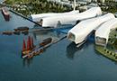 海博馆建设进展顺利