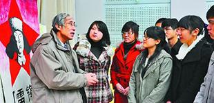 天津师范大学退休干部王辅成义务宣讲24年