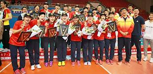 抢七战天津女排胜上海获排超冠军 夺联赛第11冠