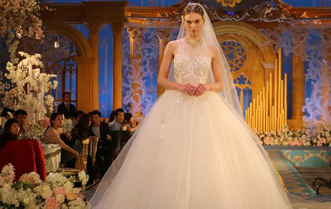 春季主题婚纱时尚秀在天津举行