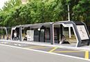 生态城智慧公交站亮相
