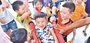 社区里的运动会 让孩子平安快乐过暑假