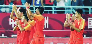 U23国足带着胜利出征亚运会