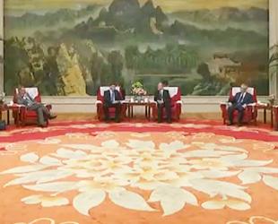 李鸿忠张国清会见欧盟委员会东布罗夫斯基斯