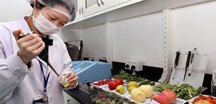 三季度农产品抽检总体合格率为97.6%