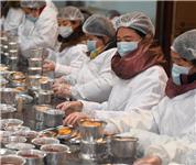 杭州灵隐寺开熬腊八粥