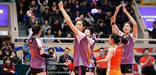 天津女排豪取11连胜 总决赛占先机