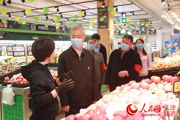 """提振市民消费信心 天津武清区委书记带头""""下馆子""""""""逛超市"""""""
