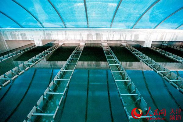 天津市�|郊污水�理�S即�⑼队每扇仗�理污水60�f立方米